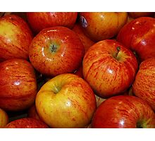 An Apple A Day! Photographic Print