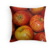 An Apple A Day! Throw Pillow
