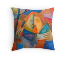 THE BETRAYAL Throw Pillow