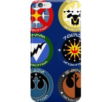 Pick Your Squadron - Insignia Series iPhone Case/Skin