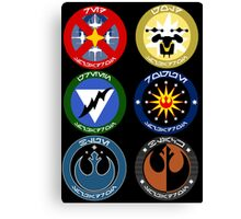 Pick Your Squadron - Insignia Series Canvas Print