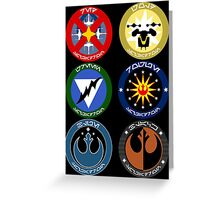 Pick Your Squadron - Insignia Series Greeting Card