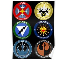 Pick Your Squadron - Insignia Series Poster