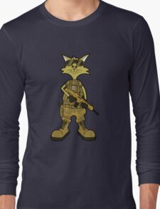 Puss In Combat Boots Long Sleeve T-Shirt