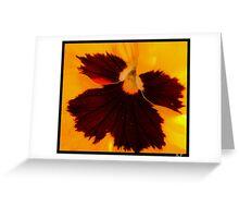 Flower. Greeting Card