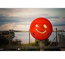 One Happy Buoy Photographic Print