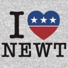 I Heart Newt by 72ndRedPenguin