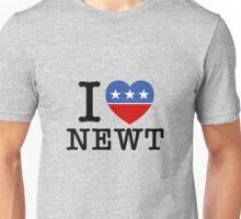 I Heart Newt Unisex T-Shirt