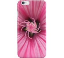 Macro Pink Flower Photography iPhone Case/Skin