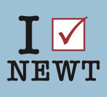 I Vote Newt by 72ndRedPenguin