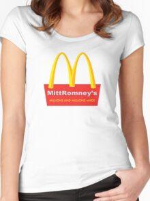 Mitt Romney's Women's Fitted Scoop T-Shirt