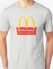 Mitt Romney's Unisex T-Shirt