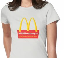 Mitt Romney's Womens Fitted T-Shirt