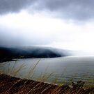 Storm over Porlock Bay by Robert Down