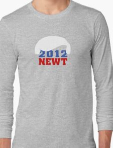 Vote Newt 2012 Long Sleeve T-Shirt