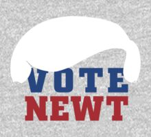 Vote Newt Gingrich 2012 by 72ndRedPenguin