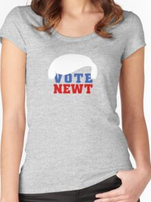 Vote Newt Gingrich 2012 Women's Fitted Scoop T-Shirt