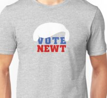 Vote Newt Gingrich 2012 Unisex T-Shirt