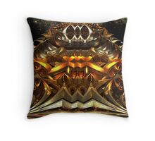 Temple Of The Galaxies Throw Pillow