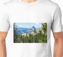 Half Dome in Yosemite  Unisex T-Shirt