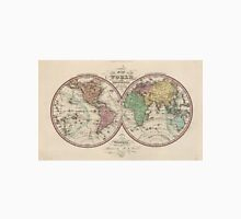 Vintage Map of The World (1842) Unisex T-Shirt