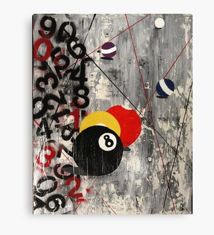 Eight Ball Canvas Print