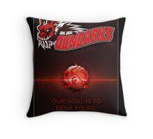 Jen'jidai Guild Huttball poster Throw Pillow