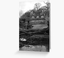 Mill House Winter Greeting Card