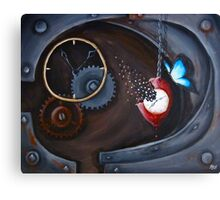 Rebirth for a Clockwork Soul Canvas Print