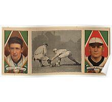 Benjamin K Edwards Collection Jack Knight Walter Johnson Washington Nationals baseball card portrait Poster