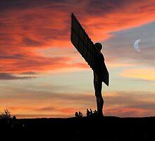 Angelic Sunset by Martin Jones