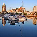 Townsville City Sunrise - Queensland by Stephen  Nicholson