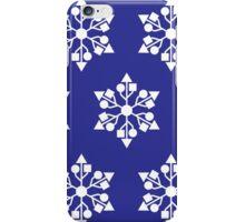 USB snowflakes iPhone Case/Skin