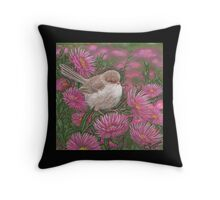 """Young Jenny Hanging Out"" Throw Pillow"