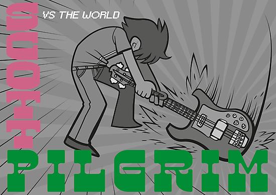 Scott Pigrim vs The Clash by SJ-Graphics