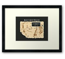 Skyrim for Hobbits Framed Print