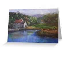 Old Stone Mill Greeting Card