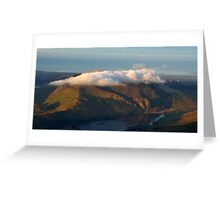 Mini Table Top Mountain Greeting Card