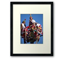 The Flyers - Los Voladores Framed Print