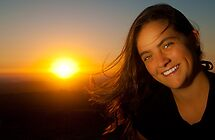 Smiling Sunset by Brandon Dyzel