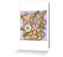 Believe Blossoms Greeting Card