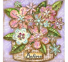 Believe Blossoms Photographic Print