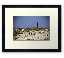 Beachview of Ponce Inlet Lighthouse Framed Print