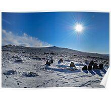 Nine Maidens Winter Sun Poster