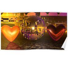 Escher's Valentine Kitsch Poster