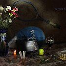 Tennis Fan by FrankSchmidt