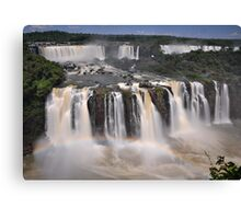 Tiered Falls #2 Canvas Print