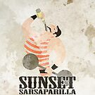 Sunset Sarsaparilla - (iPhone) by Adam Angold