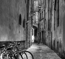 Florentine Side Street by Keith Sutherland