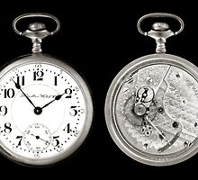 antique pocketwatch by Jim  Hughes
